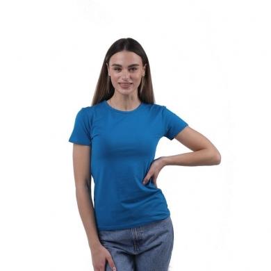 sergio dallini Женская футболка бирюзовая Sergio Dallini SDT651-4