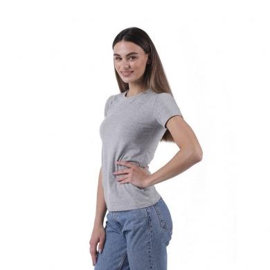 sergio dallini Женская футболка серая Sergio Dallini SDT651-2