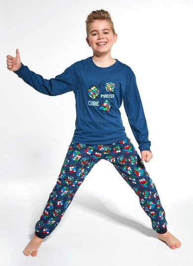 cornette 593/966 CUBE MASTER Пижама для мальчиков со штанами