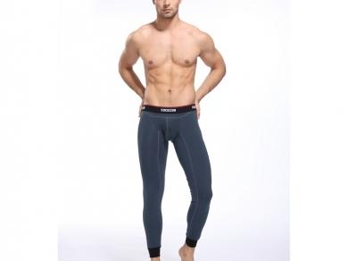 Cockcon Мужские кальсоны мокрый асфальт Cockon Pants Grey