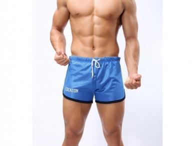 Трусы Cockcon Мужские шорты спортивные Cockon Blue Shorts