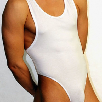 Doreanse Мужское боди белое Man Body 5003