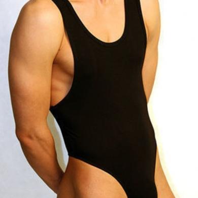 Doreanse Мужское боди черное Man Body 5003