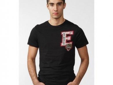 Футболка Ed Hardy Футболка мужская черная ED HARDY black E - tiger T-shirt
