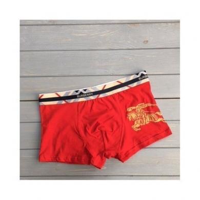MULTIBRAND Мужские трусы боксеры красные Burberry Brit Red Boxer