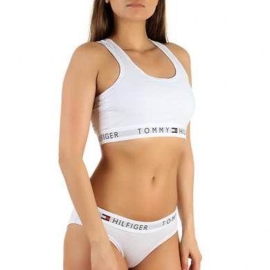 Tommy Hilfiger WOMEN Женский комплект белый топ и брифы Tommy Hilfiger Women