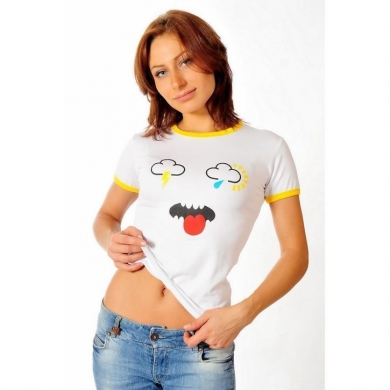 Epatage (женское) Женская футболка белая 020613w
