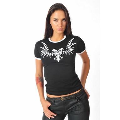 Epatage (женское) Женская футболка черная 010256w