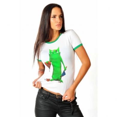 Epatage (женское) Женская футболка белая 020711w