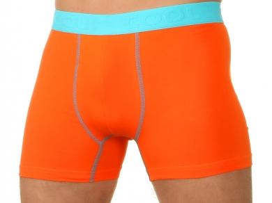 Трусы E5 Underwear Мужские трусы боксеры оранжевые E5 Underwear Cotton 021