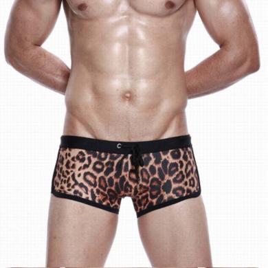 seobean Мужские плавки леопардовые Leopard Swimsuit