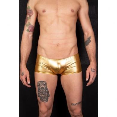 cosmos colors Мужские трусы боксеры золотистые MR30_ G