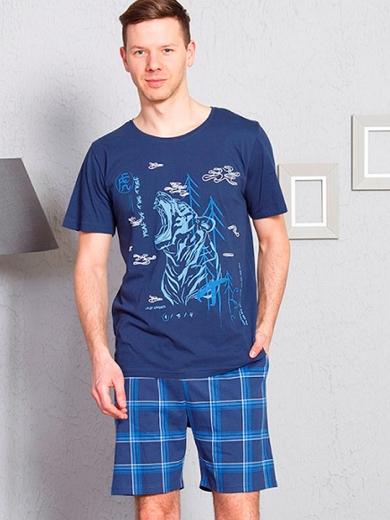 vienetta №711119 3281 Комплект мужской -Gazzaz с шортами
