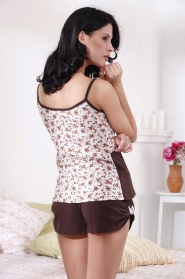 evateks Трикотажная пижама Brown Roses (E 1405)