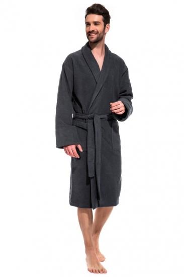 evateks Банный махровый халат Gray Label (Е 365)
