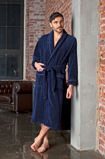 vien Махровый халат из бамбука Daniel (EFW)