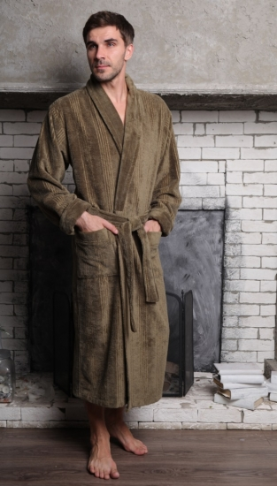 vien Махровый халат из бамбука Valentino (EFW)
