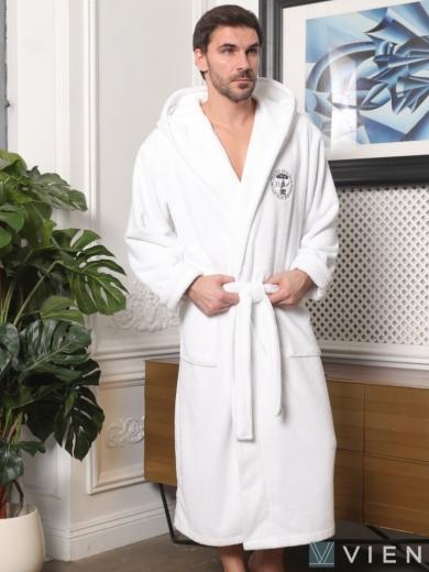 vien Махровый халат с капюшоном Sydney (EFW)