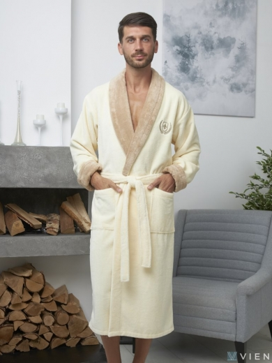 vien Мужской махровый халат Ludovic (EFW)