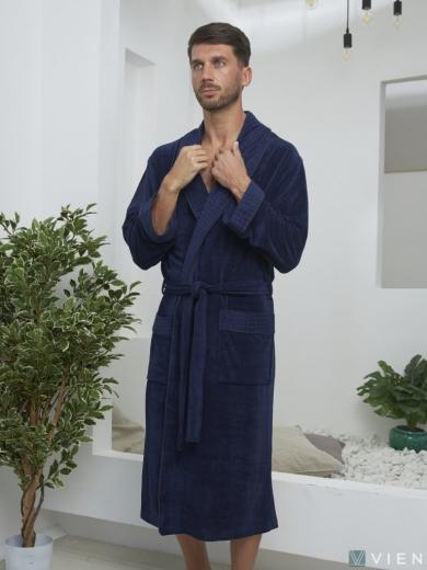 vien Велюровый халат из бамбука LAWRENCE (EFW)
