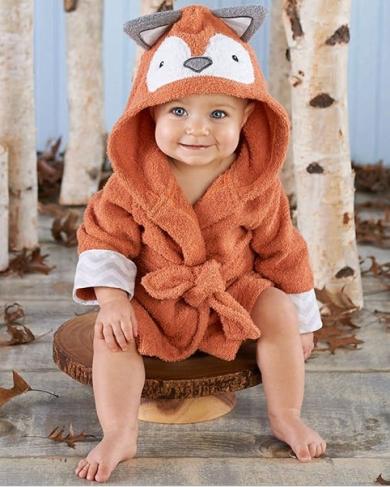 pÊche monnaie Детский махровый халат Brown Panda (PECHE MONNAIE France 7) темно-бежевый