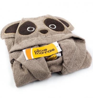 pÊche monnaie Детский махровый халат Brown Panda (PECHE MONNAIE France 7)