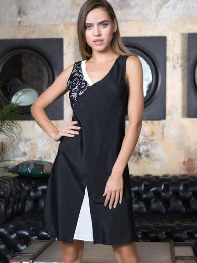 """Mia Mia Мираж №17601 Платье """"Black/White"""""""