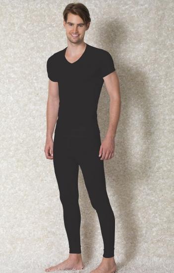Doreanse Мужская  термо футболка черная 2880