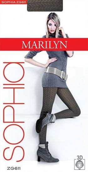 Колготки Marilyn SOPHIA 611 размер 3-4/M-L bronzo mrl