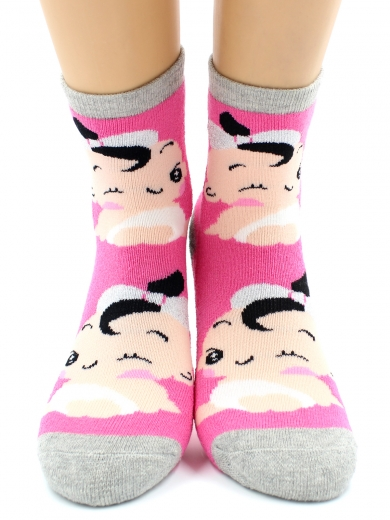 HOBBY 3620 носки детские махровые внутри