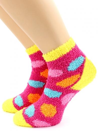 HOBBY 3312 носки детские махровые травка разноцветные шарики