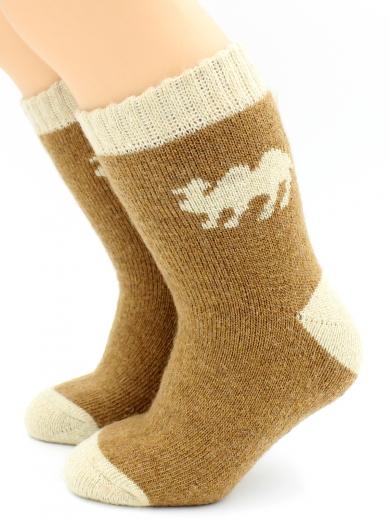 HOBBY 7838 носки детские с добавлением шерсти верблюда