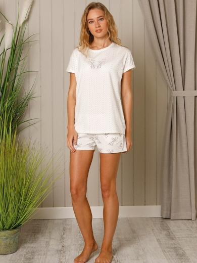 "Hays Пижама ""Liliiana Shirt Shorts"" 18542 размер S молоко"