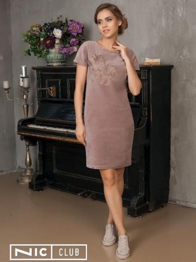 Платье Nic Club Aneto 1704 размер 52 какао
